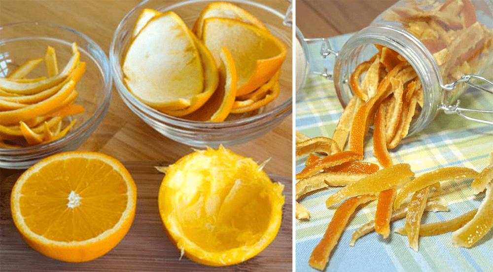 Food Grocery Hacks - Candied Orange Peels