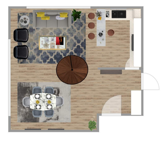 The Home Stylist space planning tool