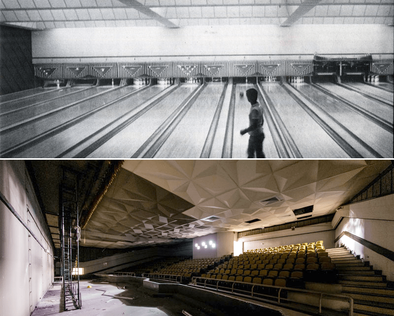 Old School Bowling Alley Cinema - Queenstown Singapore