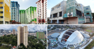 Iconic Buildings in Singapore - Before and After Transformations