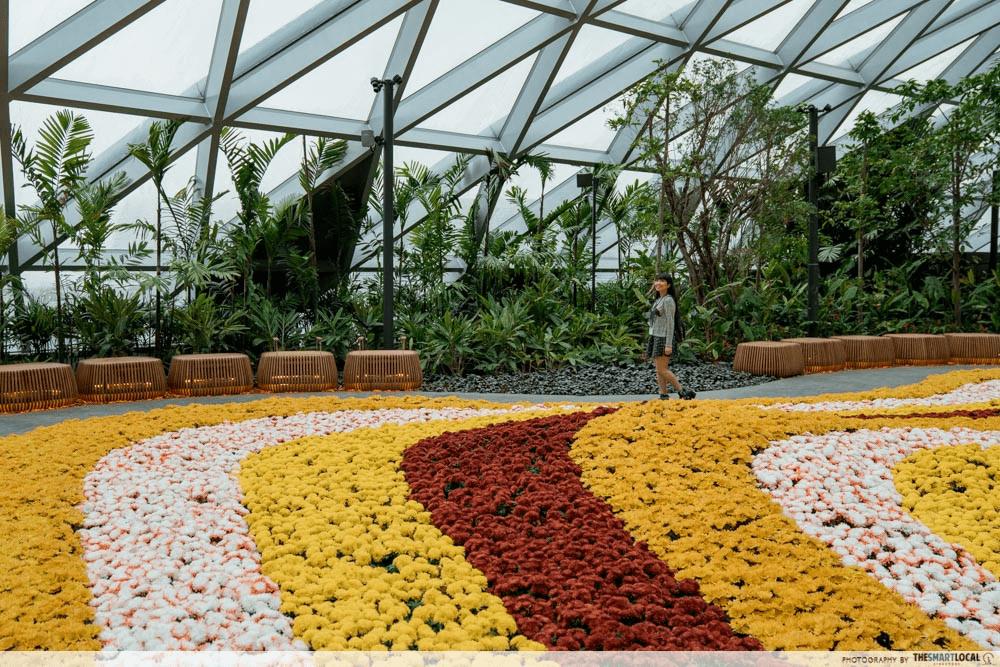 Jewel Changi Canopy Park - Petal garden