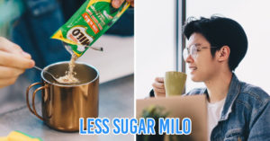 Milo Gao Siew Dai with wholegrain cereal