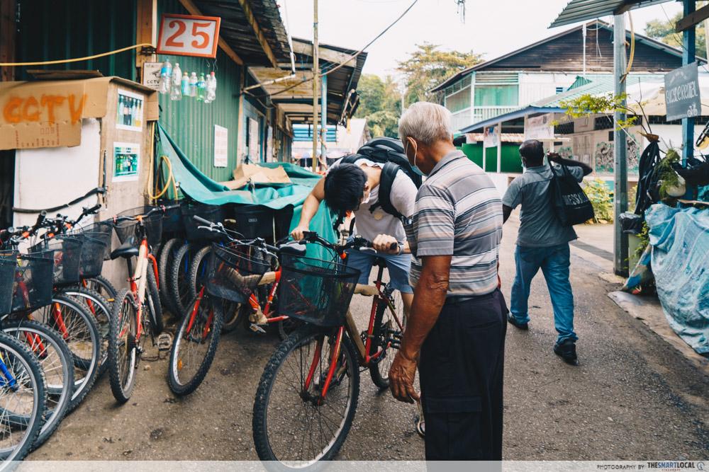 Pulau Ubin - bicycle