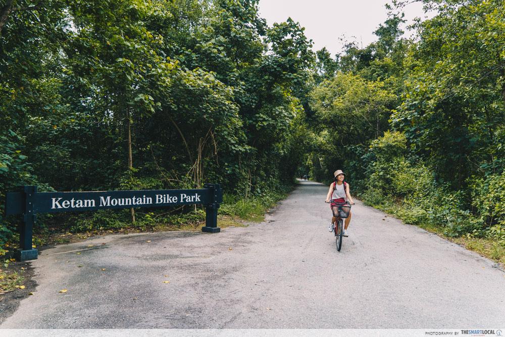 Getting around Pulau Ubin