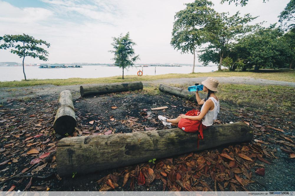 Pulau Ubin - Jelutong Campsite