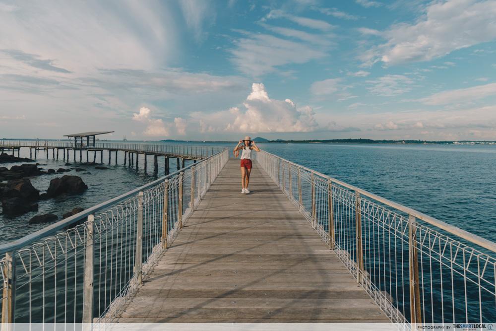 Pulau Ubin - Chek Jawa Wetlands boardwalk