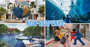 Resorts World Sentosa Reopening