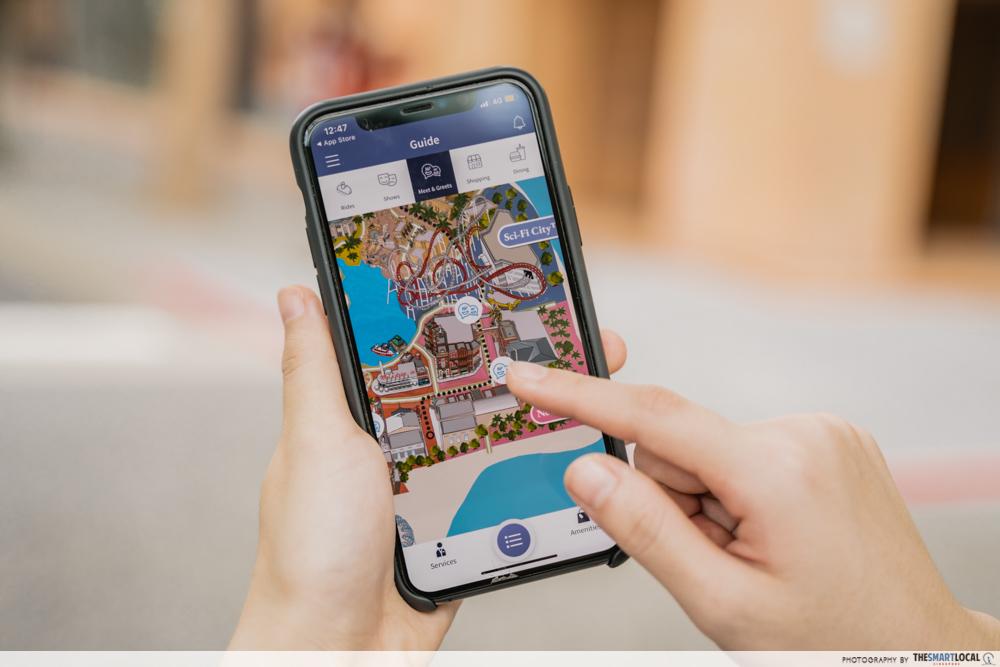 Universal Studios Singapore App