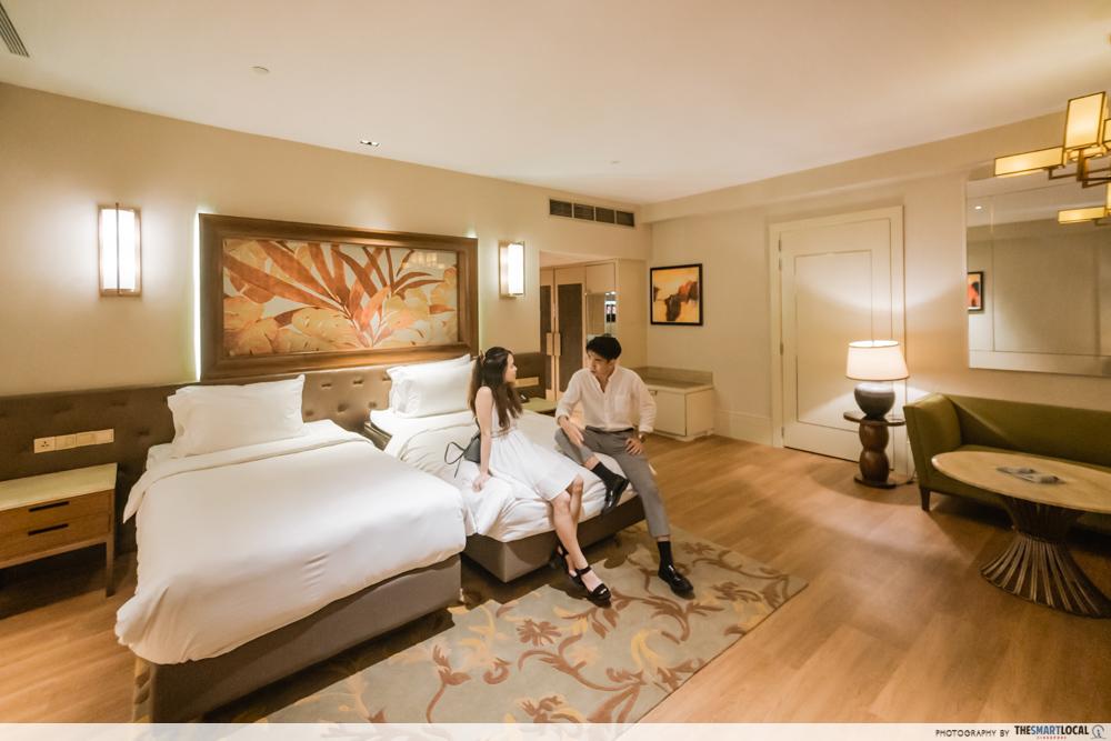 Resorts World Sentosa Equarius Hotel room