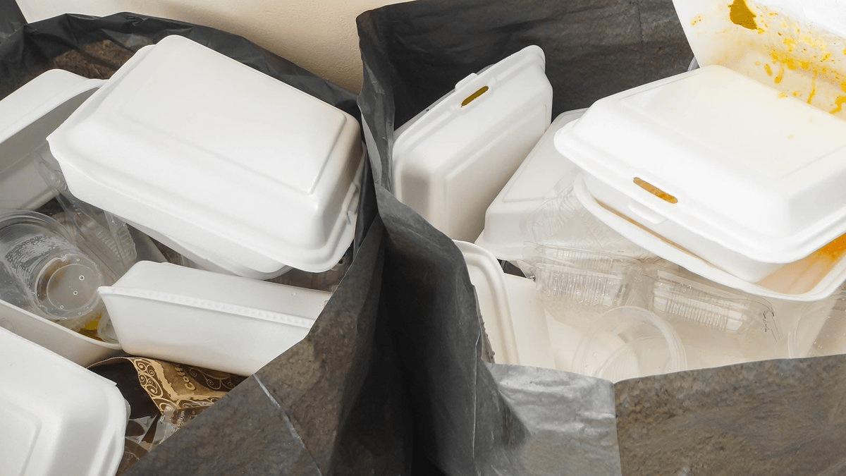 Styrofoam Takeaway Boxes