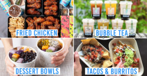 Shareable Food Delivery Options in Singapore