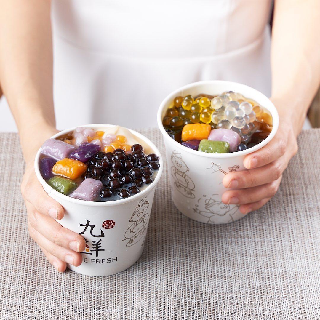 Nine Fresh Dessert Bowl Singapore Food Delivery