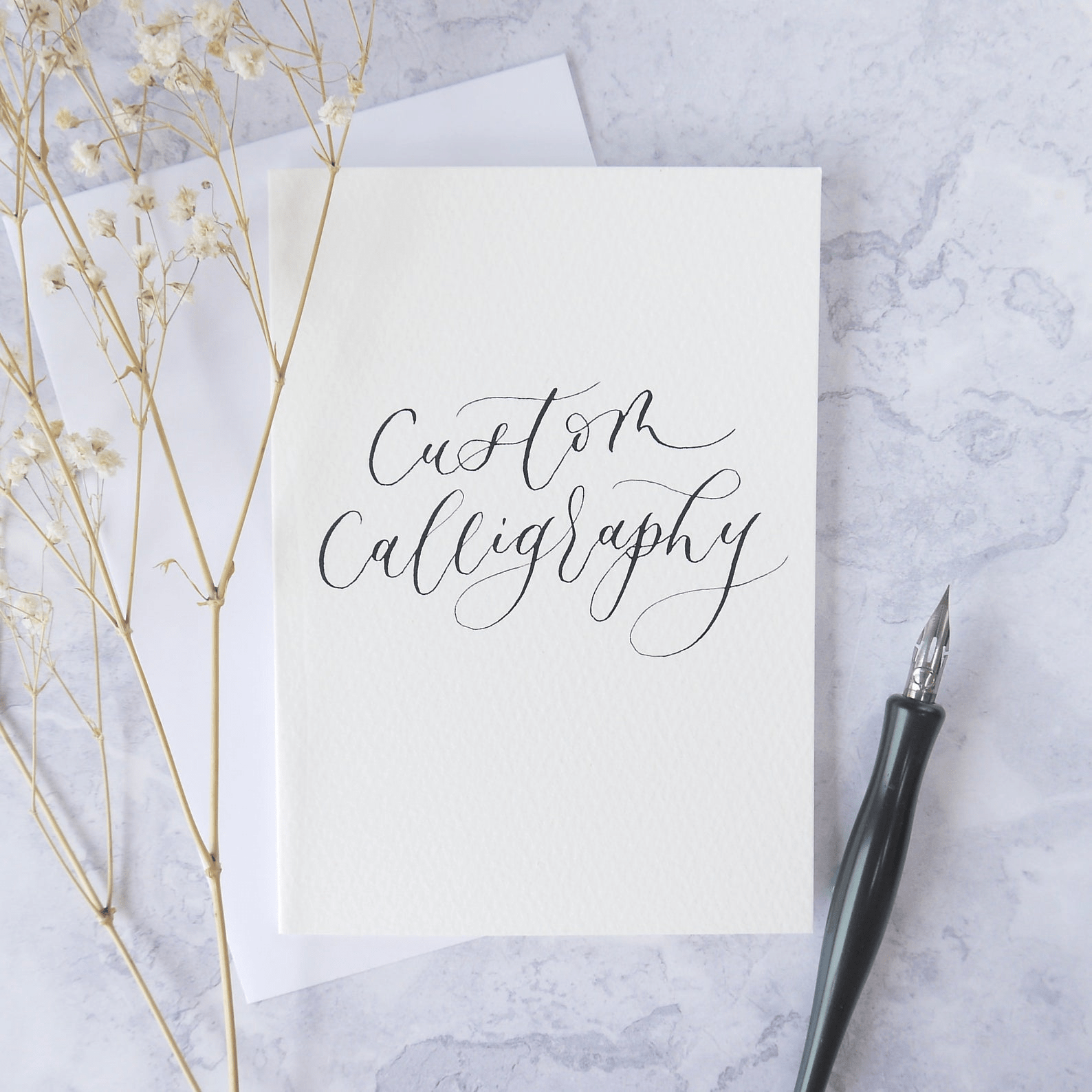 Calligraphy as a side hustle