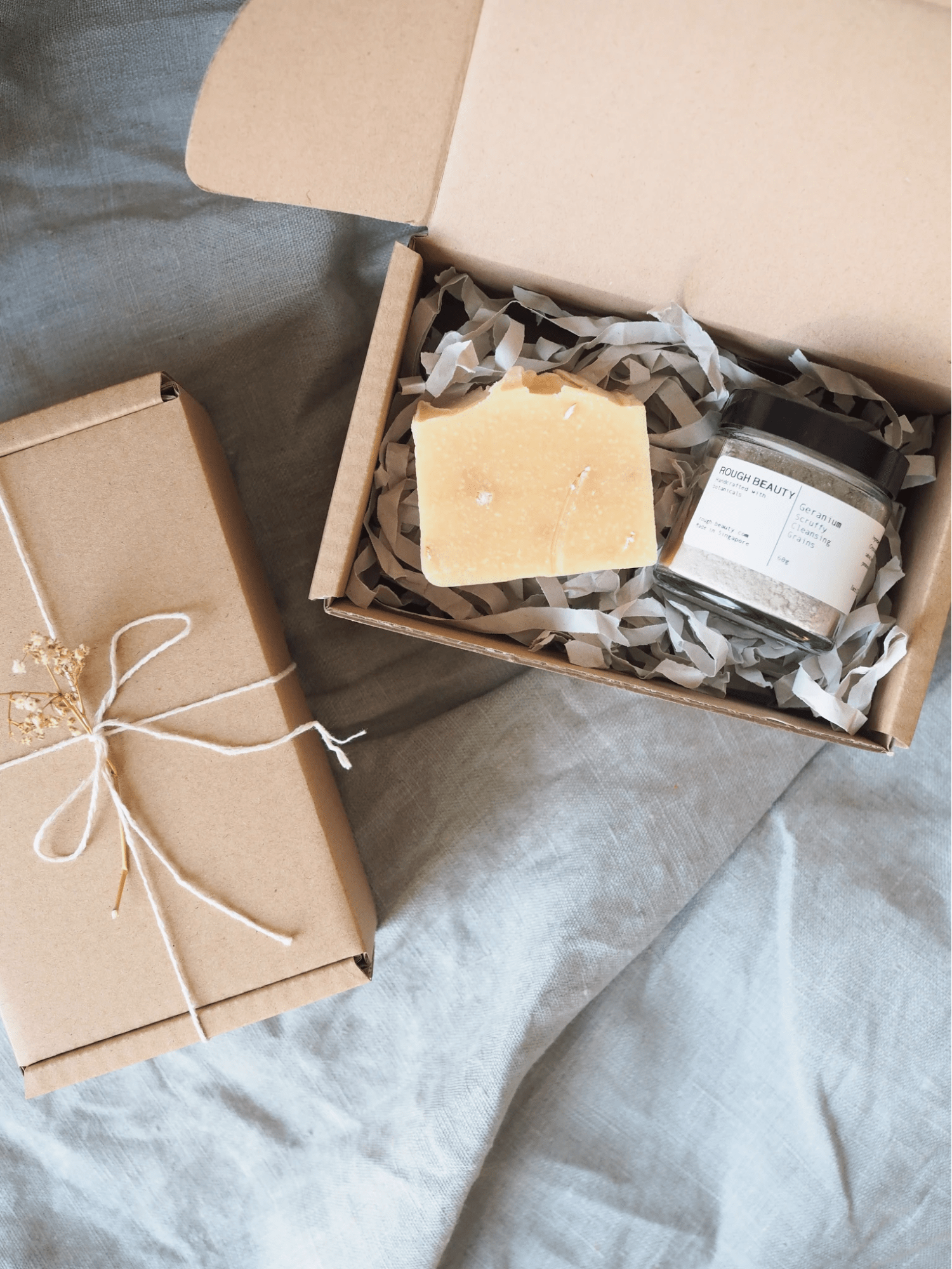 Handcrafted soap bar from Rough Beauty