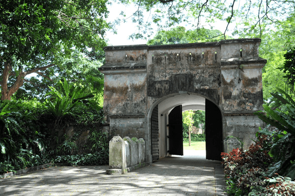Singapore Road Trip Ideas - Fort Canning Fort Gate
