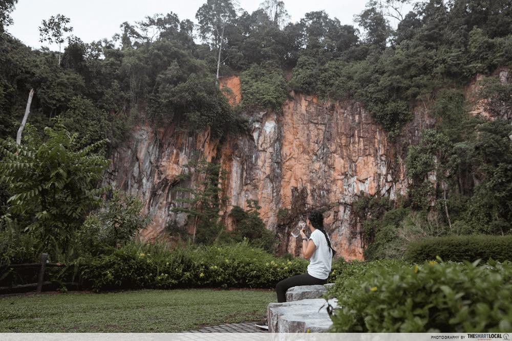 Singapore Road Trip Ideas - Bukit Batok Little Guilin Quarry