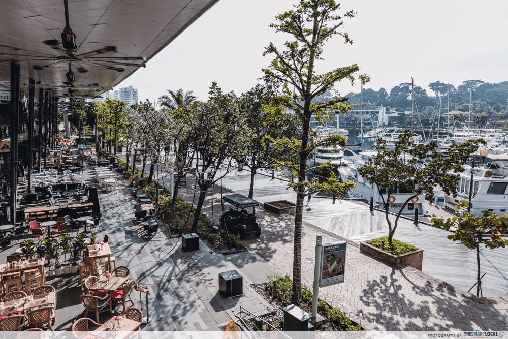 Singapore Road Trip Ideas - Quayside Isle