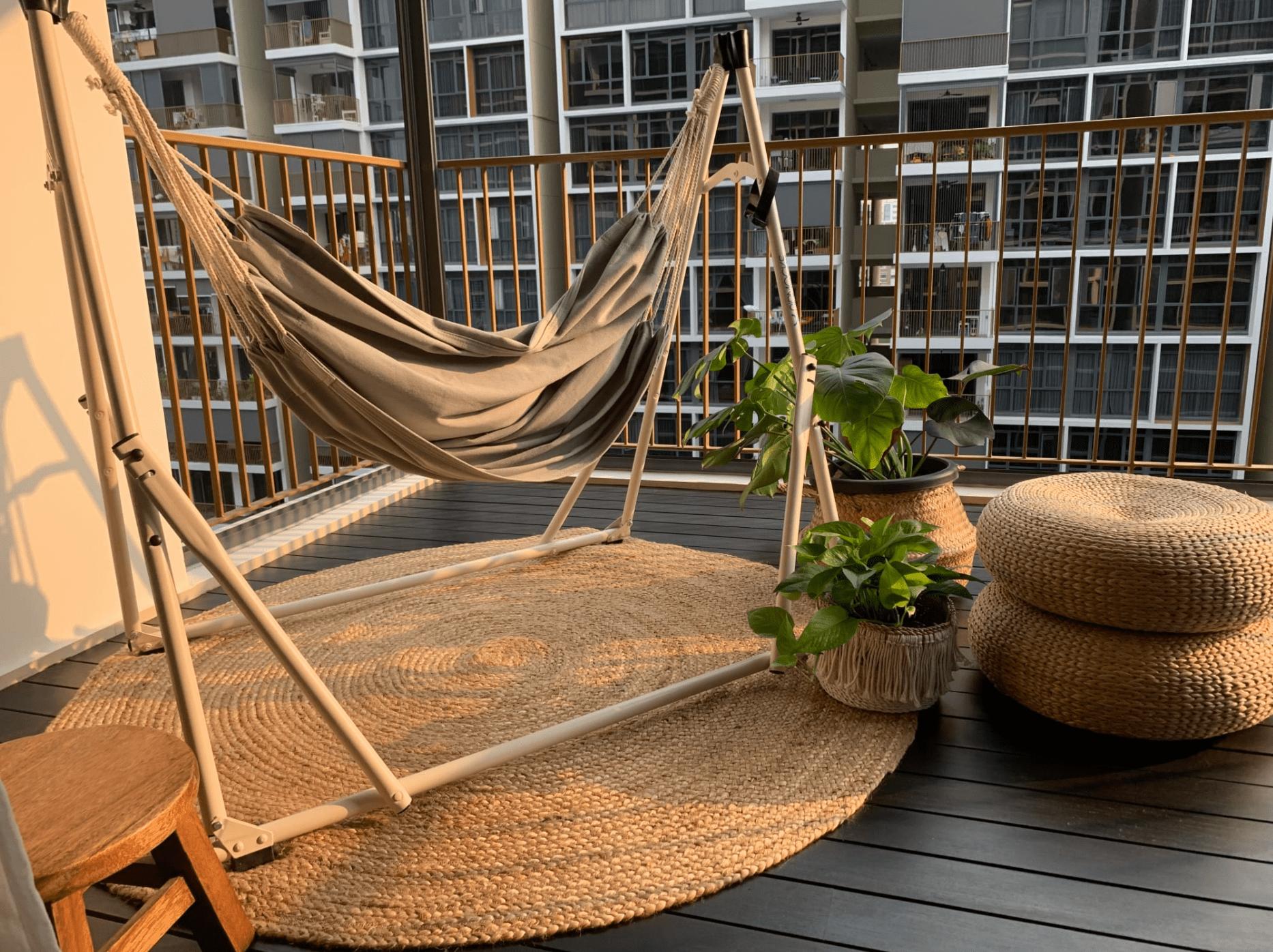 Castlery Marc Jute rug for home decor