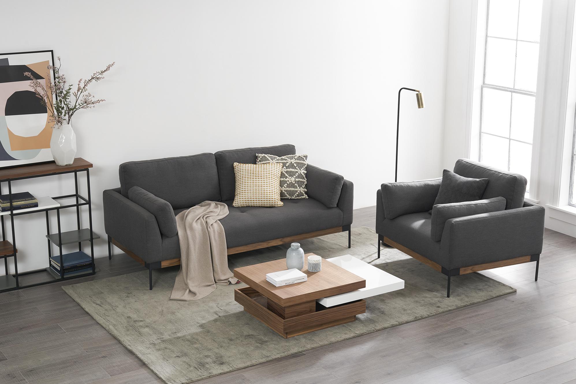 Ethan 3 seater sofa and Ethan armchair