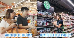 Supermarket hacks in Singapore