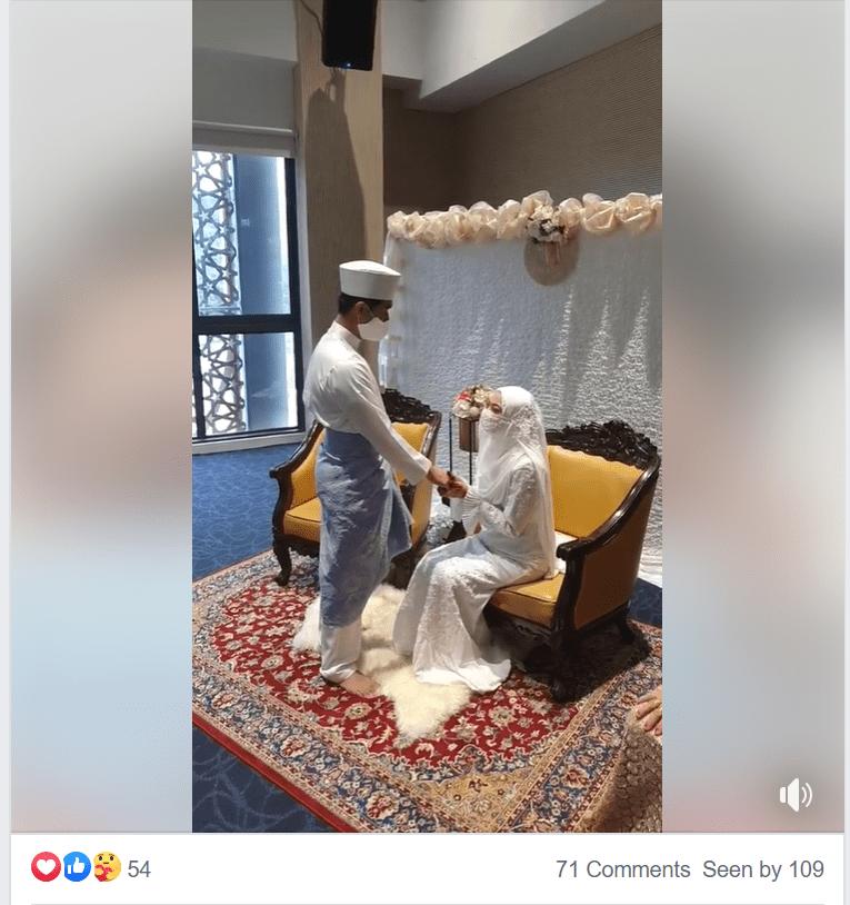 Facebook Live Stream Singapore Wedding COVID-19