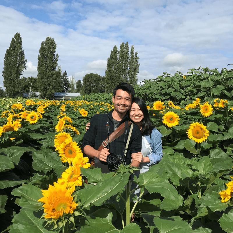 Justyne & Gervais - Sunflower Field