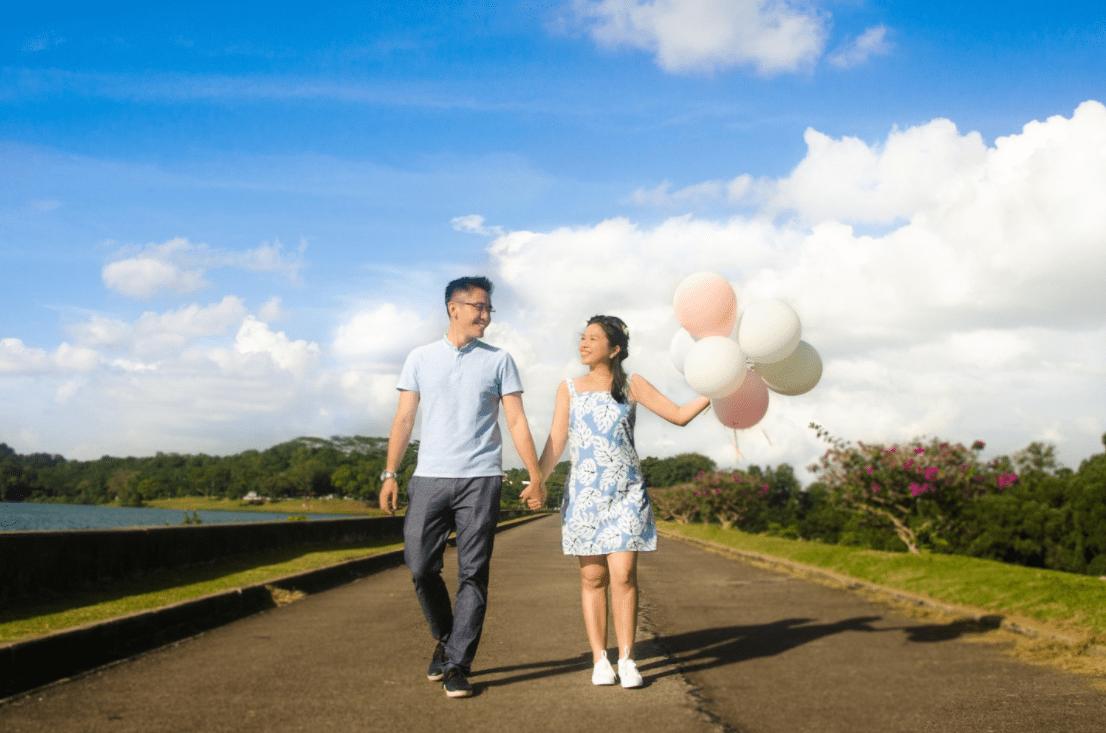 Tun & Yan Ning - Balloons