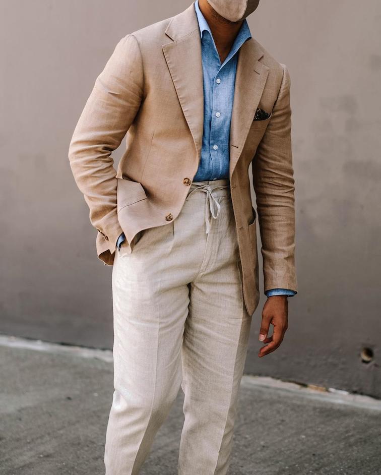 Benjamin Barker suits