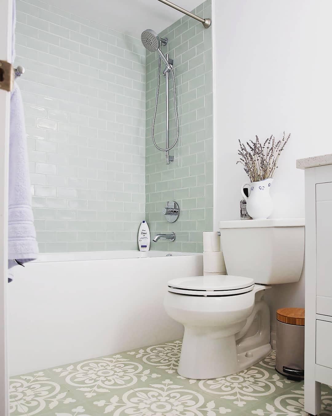 Bathtub for HDBs Singapore - Built-in bathtub