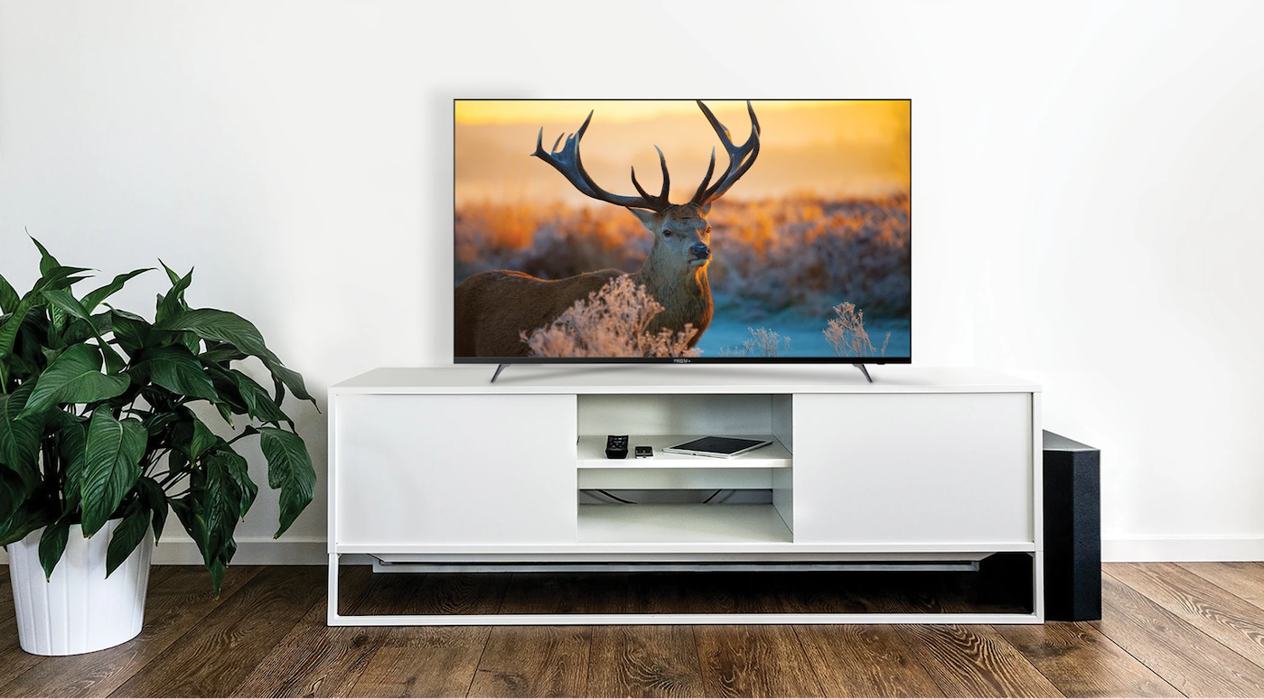 "Prism+ E55 is one of the most affordable 4K 55"" smart TV in Singapore."