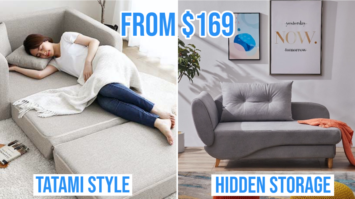 9 Best Sofa Beds In Singapore That Are Affordable And Comfortable For A Good Night S Sleep