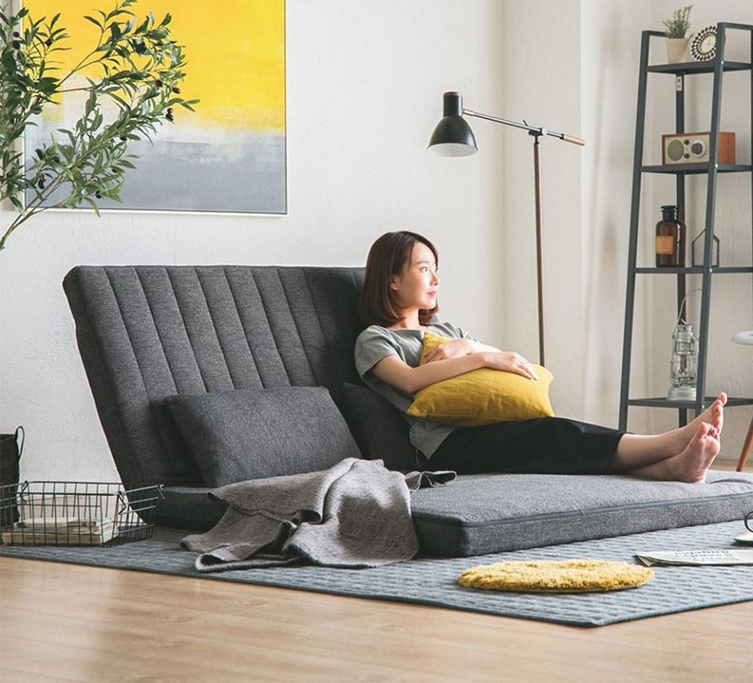 Rocot 3-way floor sofa allows you to lounge on it