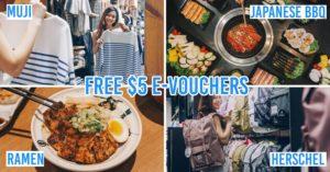 Free Vouchers At Bugis Junction and Bugis+