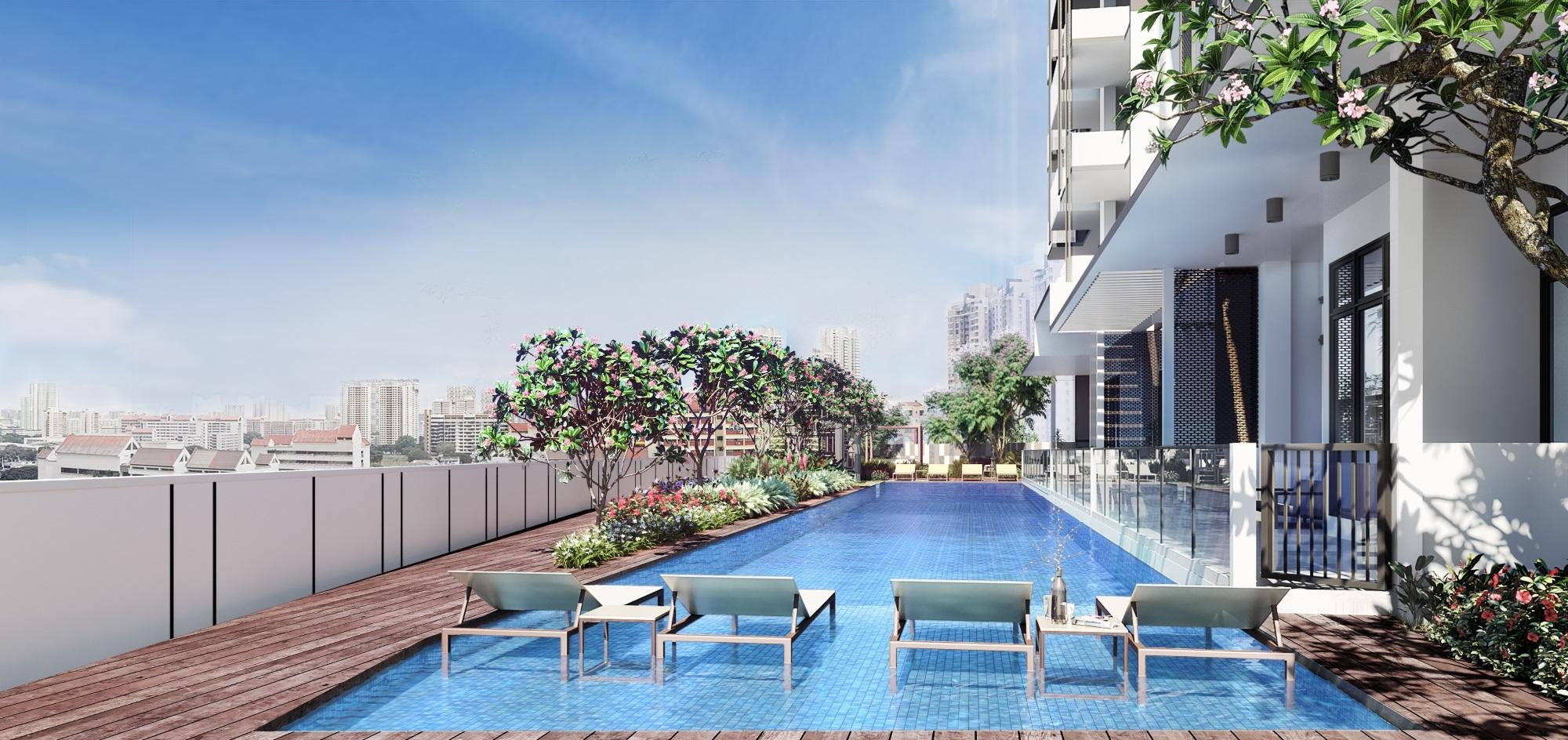 Buying Condo in Singapore - swimming pool