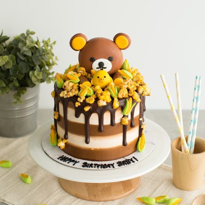 Customised Cakes in Singapore - Baker's Brew
