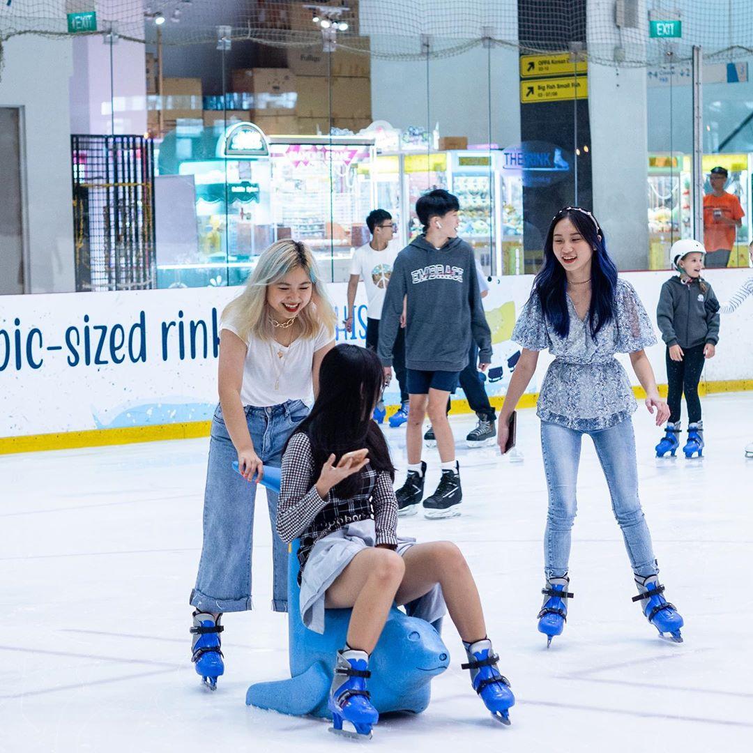 ice skating singapore - The Rink - JCube