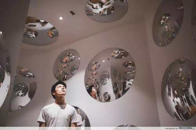 yayoi kusama national gallery exhibition