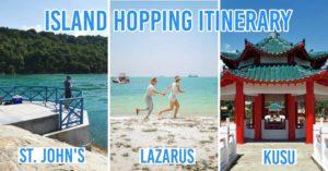 Island hopping Singapore itinerary
