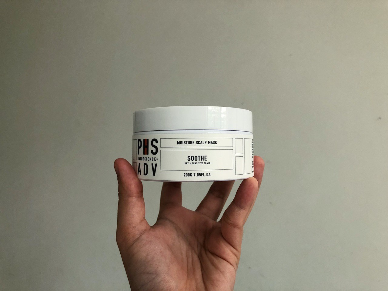 PHS Hairscience soothe mask
