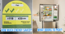How To Pick A Fridge In Singapore To Keep Your Food Fresh Longer & Save Electricity