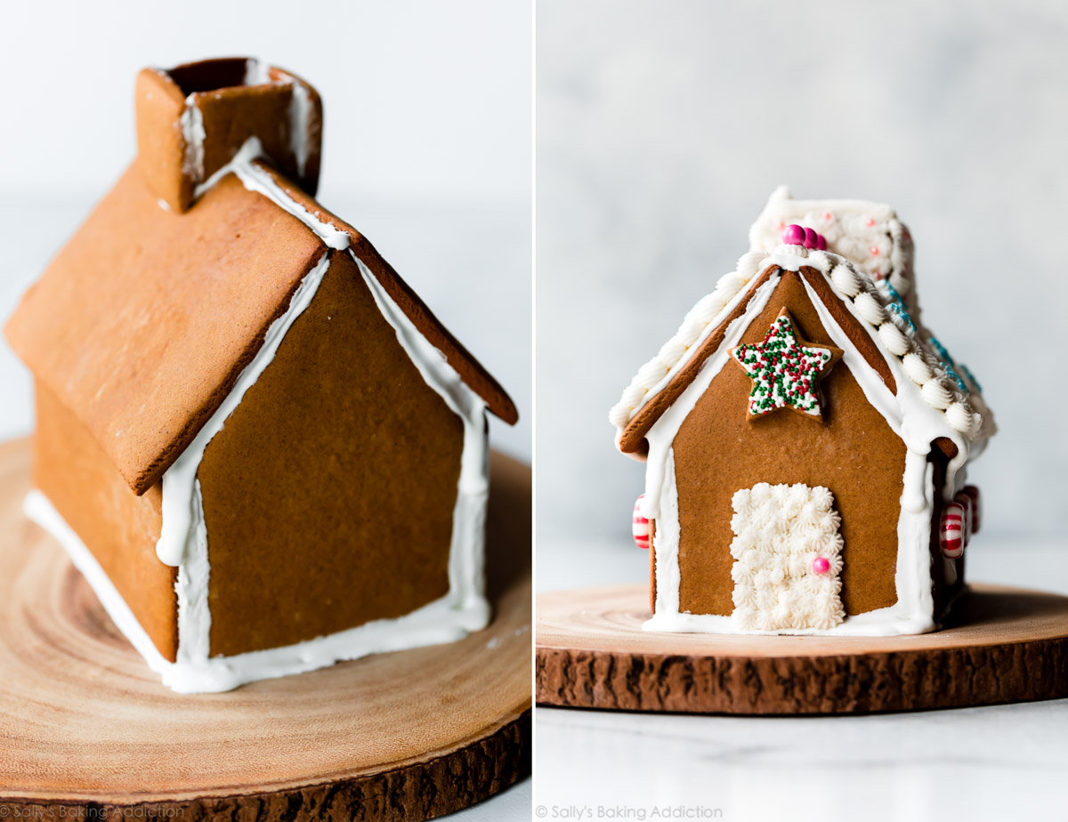 Gingerbread house by Sally's Baking Addiction