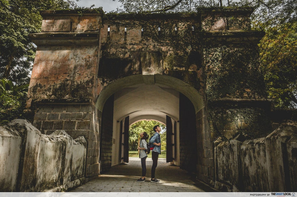 SingapoRediscovers - Fort Canning Park