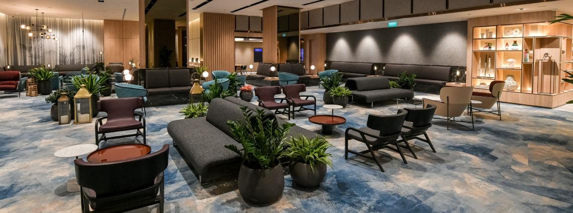 Changi Lounge at Jewel Changi Airport