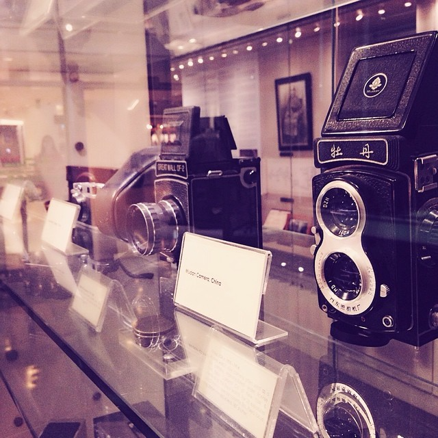 the cathay gallery - check out old film cameras