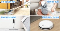 7 Best Mops In Singapore To Make Your Floors Squeaky Clean, With Spray, Robot & Spinner Bucket Options