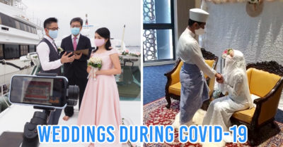 Wedding During Pandemic COVID-19 Singapore