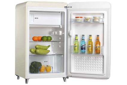 Tecno bar fridge interior