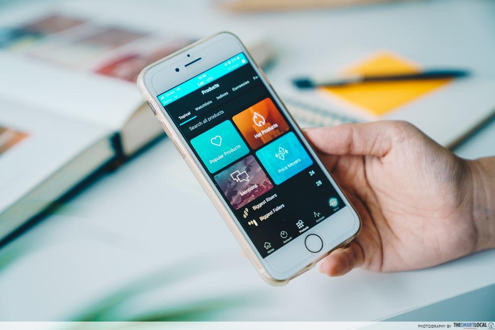 CMC trading app