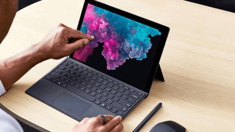 Microsoft Surface Pro 7 Convertible Laptop Tablet