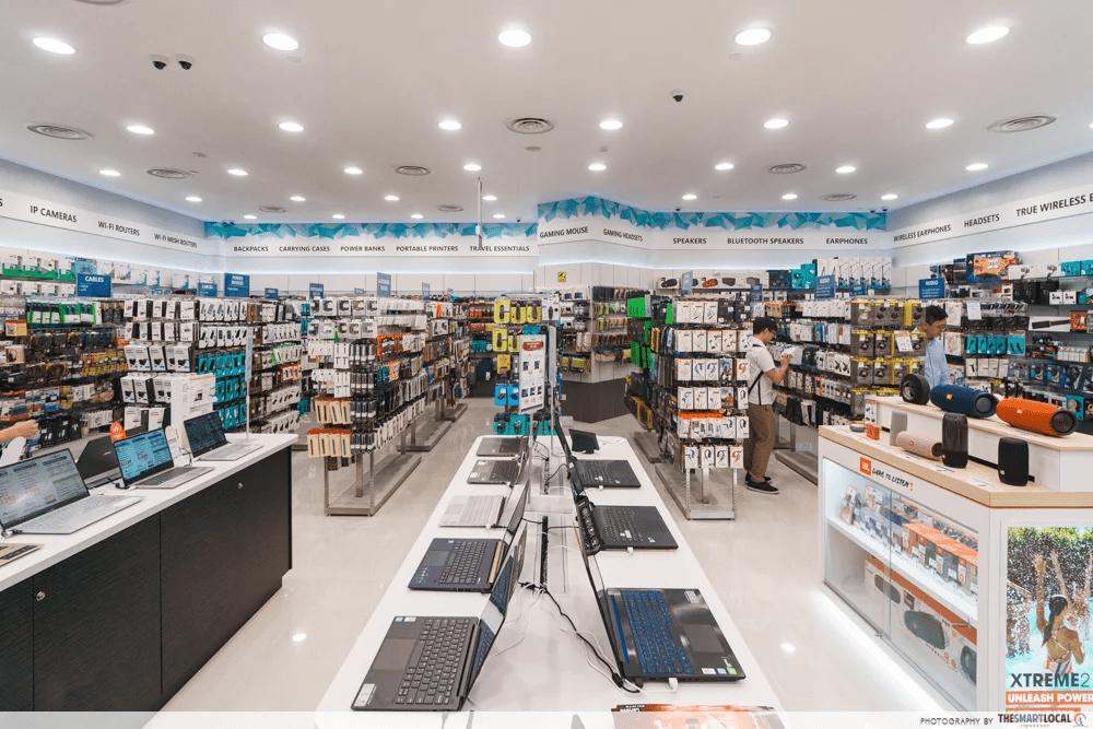 Challenger Singapore Electronics Store